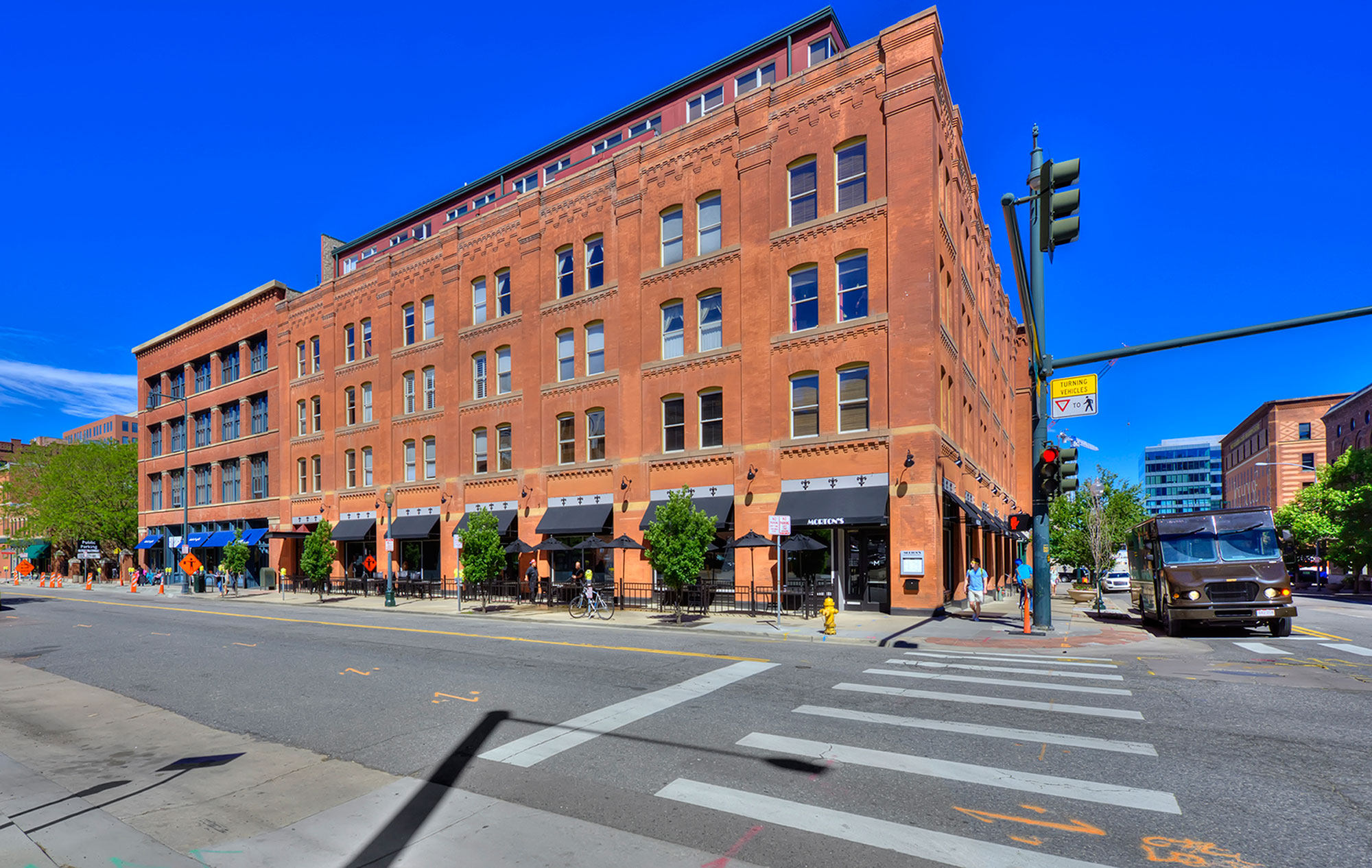 Penthouse loft for sale at the Franklin Lofts in LoDo