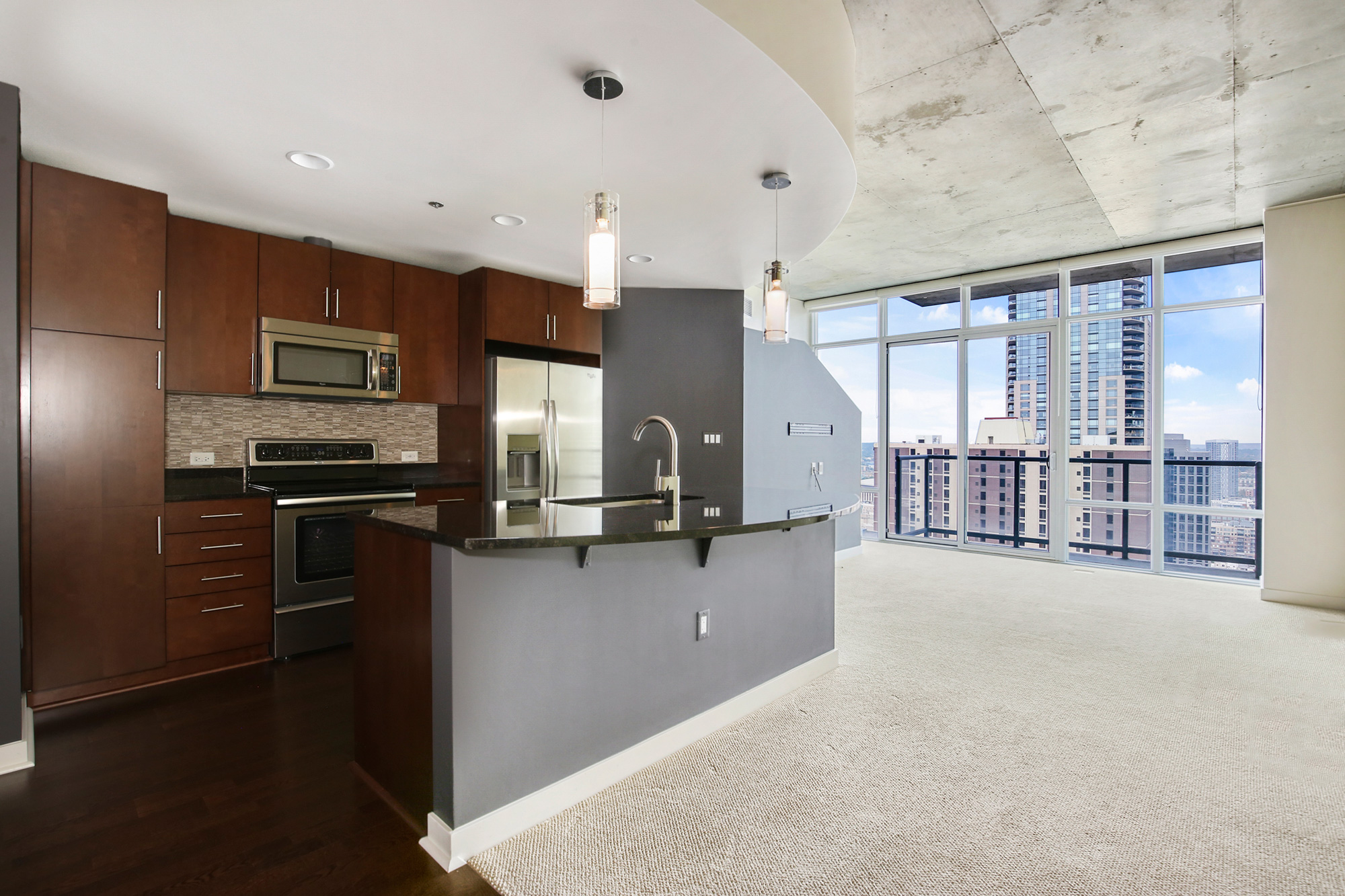 Condo for rent downtown Denver at Spire