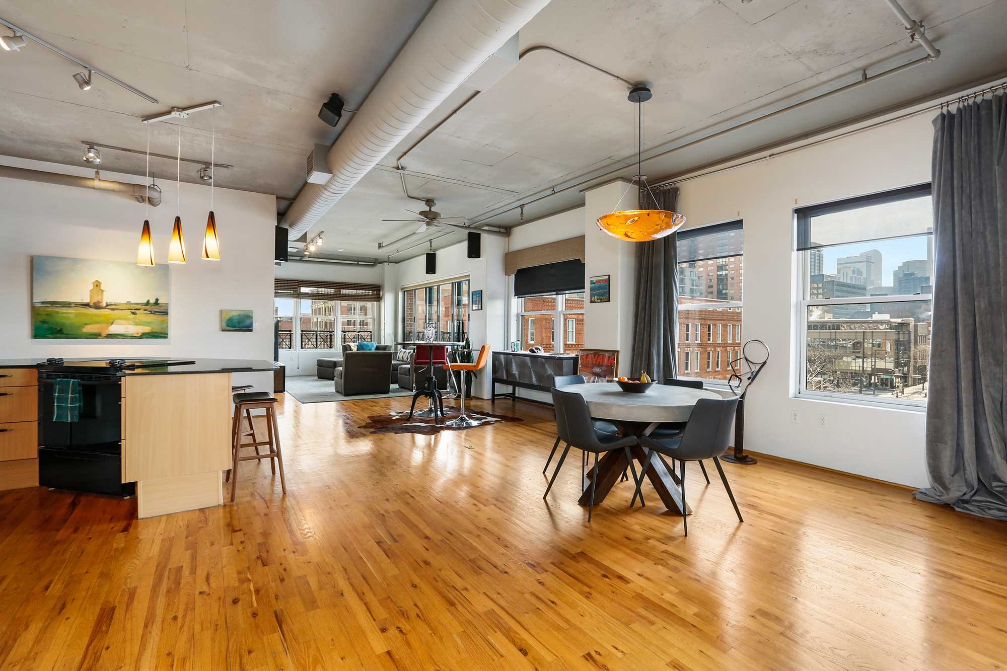 Lofts for rent Denver LoDo at the highly desirable Palace Lofts