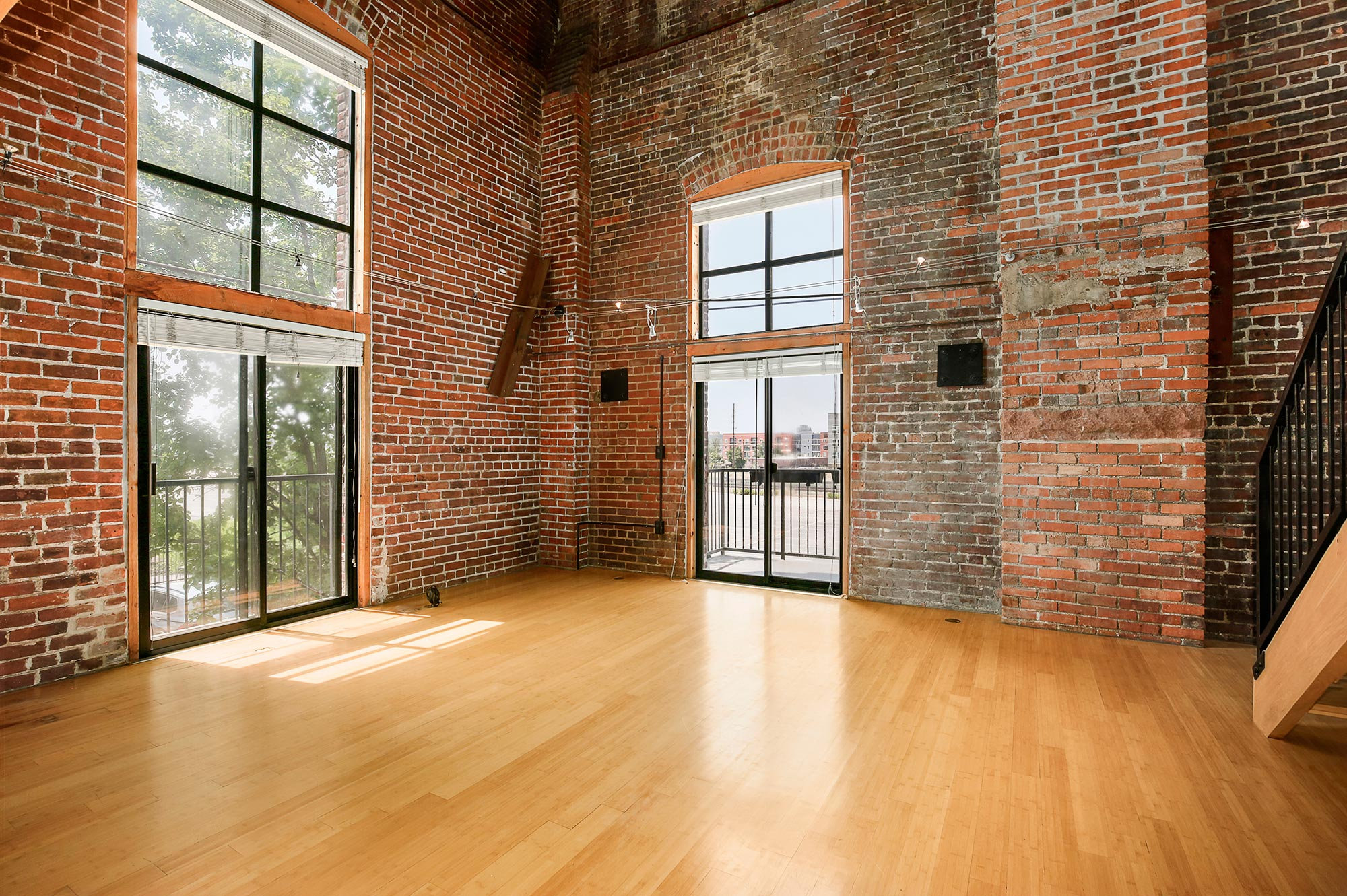 Industrial loft for rent Denver at Fire Clay Lofts